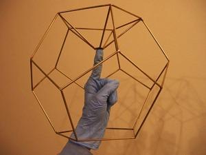 Neil Fraser Hardware Dodecahedron Lamp