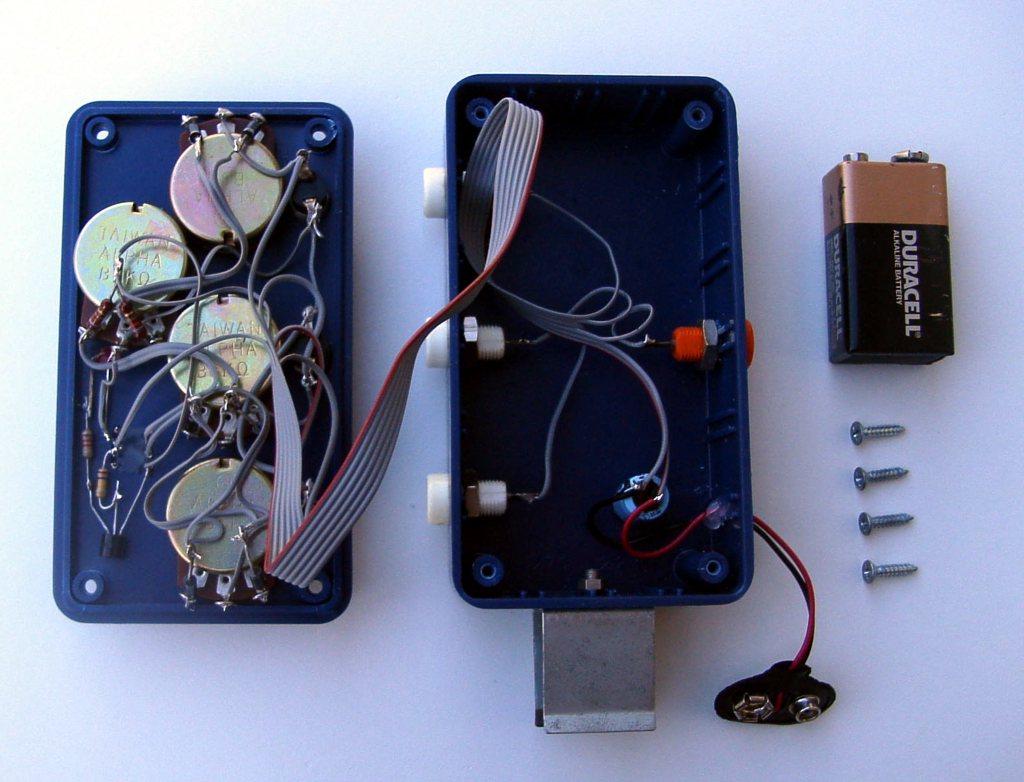 Neil Fraser Hardware Artificial Neuron Op Amp Wiring Inside The