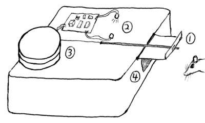 [diagram of mouse trap]