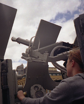 [Anti-aircraft gun]