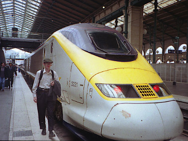[Eurostar in Paris]