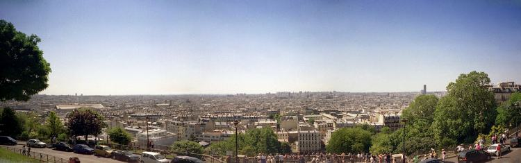 [Panorama of Paris]