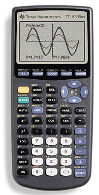 [TI-83 calculator]