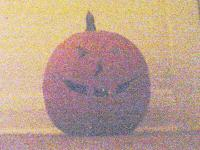 [Brightness and contrast enhanced pumpkin]