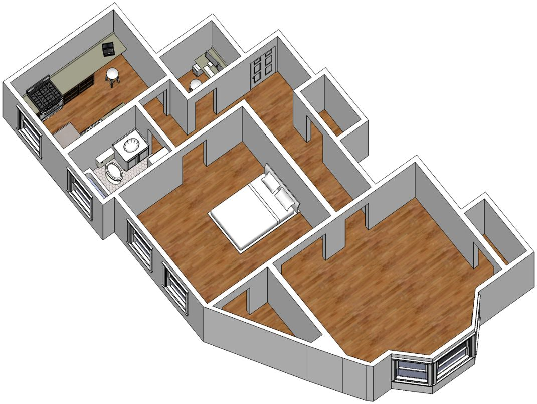 1800 too much to pay in rent how much do you pay for Floor plans in sketchup
