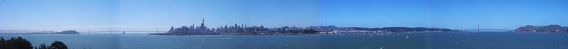 [Panorama of San Francisco]