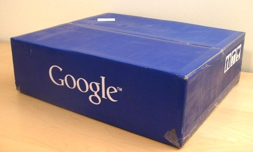 [Google Search Appliance box]