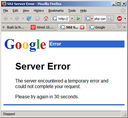 Сервисы гугл перестали работать