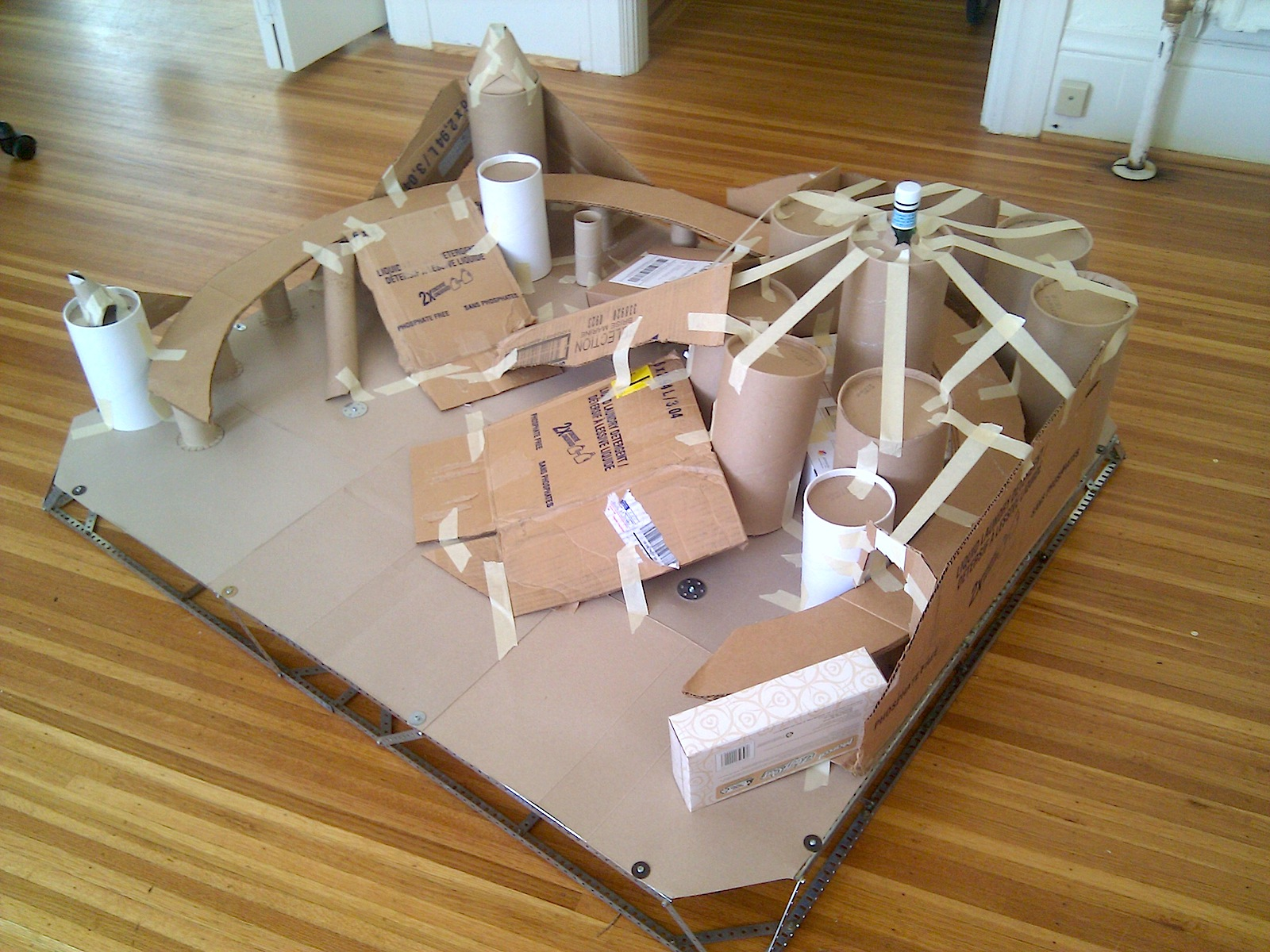 Neil Fraser News Volcano Diorama