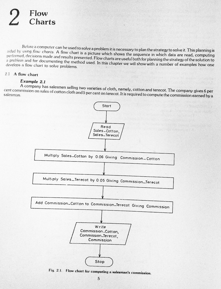 Computer Programming writer paper