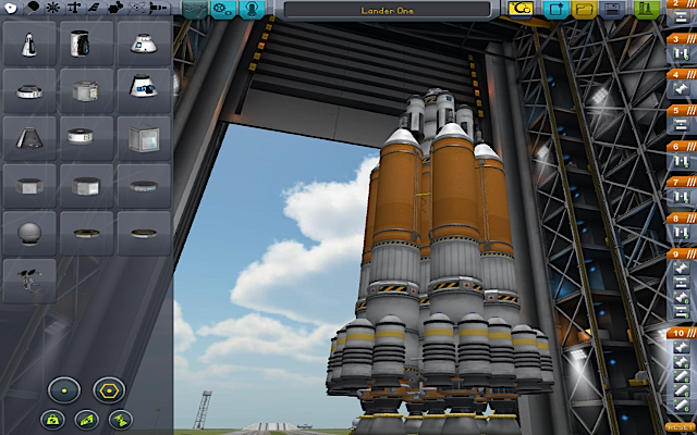 [KSP: Rocket in the VAB]