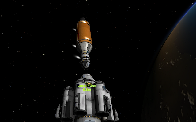 [KSP: Docking in orbit]