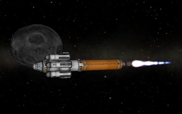 [KSP: Lunar capture]