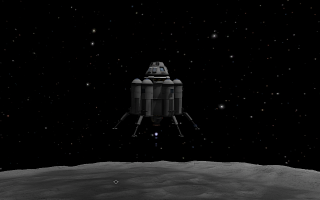[KSP: Lunar descent]