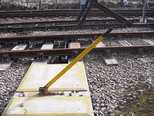 Train Control Lever : Neil fraser writing sidetracked